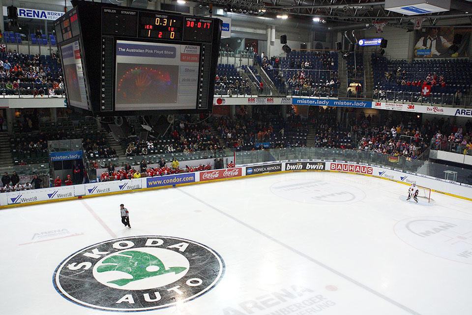 Arena Nuernberger Versicherung Spielstatte Von Thomas Sabo Ice Tigers