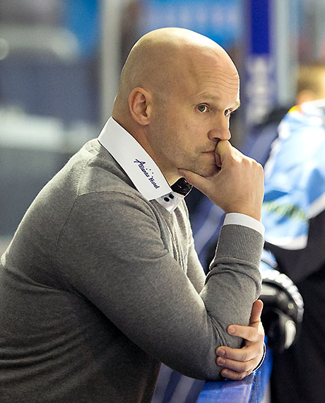 IceFighters-Coach Sven Gerike.