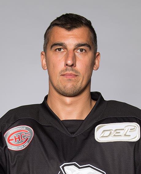 Spielerportrait von Milan Jurcina - HC Sparta Prag